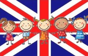bandiera inglese bimbi