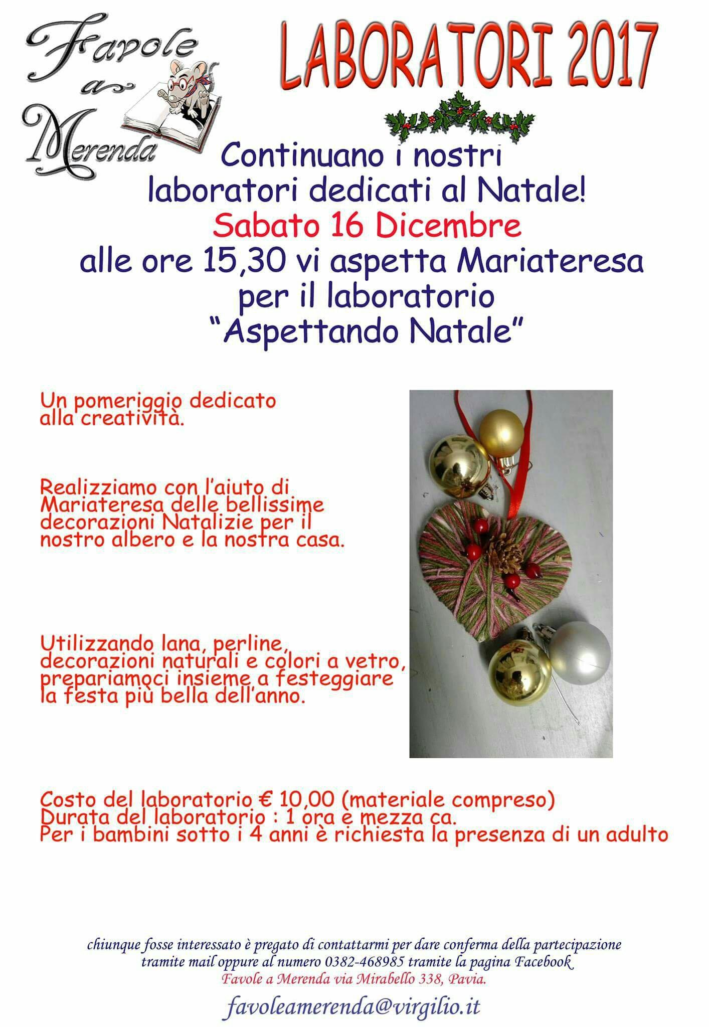 Decorazioni Natale Bambini 3 Anni.Natale Bambini Pavia Mamme Connesse